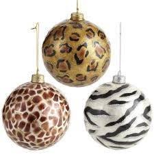 Capiz Giraffe & Cheetah Ornament Balls from so glad they have them again  this year, I need a few more :)