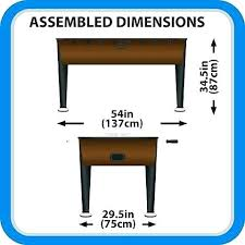foosball table dimensions. Table Dimensions Sizes Of Tables Tornado Classic Foosball Parts Dimension