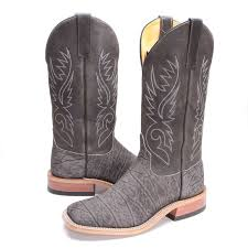 bootdaddy with anderson bean mens elephant boots gray