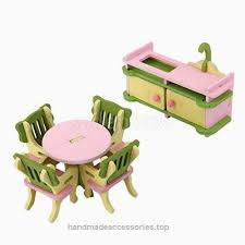 wholesale wooden doll dinning house furniture. beautiful doll shalleen 6pcs wooden doll house furniture dinning room set kids role  pretend play toy check it on wholesale