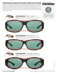 Spectacles Size Chart Vistana Size Finder