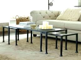 coffee tables pottery barn round mirror