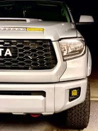 Tundra Trd Pro Rigid Fog Lights Diy Rigid Trd Pro Fog Lights Brackets Page 2 Toyota