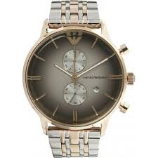 mens gold watches for chunky slim and designer from tic armani watches ar1721 armani rose gold tone stainless steel multifunction mens watch