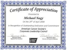 Certificate Of Appreciate Certificate Of Appreciation Template Business Mentor