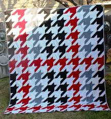 25 best Quilts - Herringbone and Houndstooth images on Pinterest ... & houndstooth plaid Adamdwight.com
