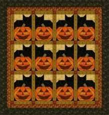 192 best pumpkin quilts images on Pinterest | Board, Crafts and Fall & Pumpkin Cats Lap Quilt Adamdwight.com