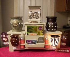 Scentsy Display Stand Bold Display Tower for ScentsyPartyLite Plug In Warmer Plugs 33