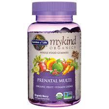 garden of lifemykind organics prenatal gummy multi berry