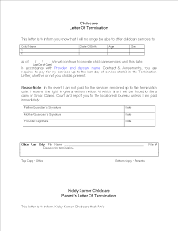 daycare termination letter for non payment