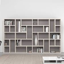 Modern tall large bookcase/library Swedish by Mobilstella
