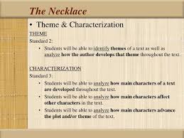 theme for the necklace la necklace  theme for the necklace 13 chic and creative nh resume remembered person essay example how to