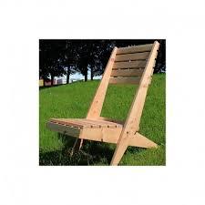 british larch garden lazy chair lounger