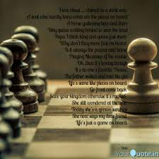 I Love Chess Chimed Quotes Writings By Debaroti