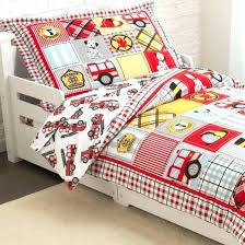 fire truck bedding twin crib set 1 toddler bed sheets fire truck bedding twin