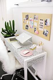 home office decorating ideas nyc. Exellent Decorating Fun Print Desk And Fur Blanket Throughout Home Office Decorating Ideas Nyc I