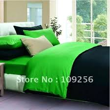 lime green comforter sets photo 4 of black and set free ship 0 sateen cotton color lime green comforter