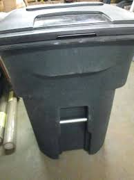 toter 96 gallon. 96 Gallon Toter Wheeled Trash Can W Home Store Shelving Cart Liners C