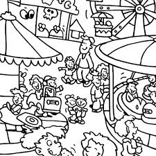 carnival coloring sheets for preschoolers inspirational pages preschool elegant page colouring of
