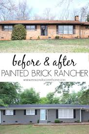 Painted Brick Reveal Exterior Designs Pinterest Bricks - Exterior paint for houses