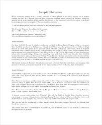 Obituary Samples | Free & Premium Templates