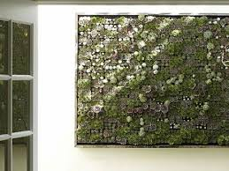 Living Wall Planter From Bright Green