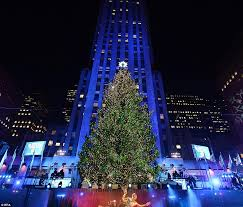 The Rockefeller Center Christmas tree is a New York institution and  installed since 1933, some
