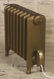Sovereign Gold Electric Radiator Colour On Churchill Cast Iron Radiator