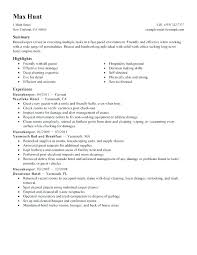 Sample Resume Of Housekeeping Graphy Resume Lovely Skills