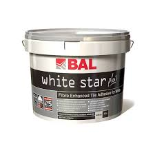 white star plus highly flexible tile adhesive for walls