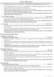 Counseling Resume