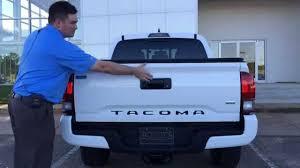 2016 Toyota Tacoma How To Remove Tri-fold Tonneau Cover Enterprise ...