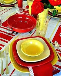 fiestaware place setting square dinnerware fiesta square dinnerware sets the little round table square on a