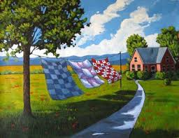 Image result for quilt paintings | Quiltscapes | Pinterest & Image result for quilt paintings Adamdwight.com