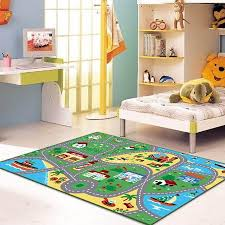 childrens area rugs. City Street Map Children Carpet Classrooms Play Mat Childrens Area Rug 3\u00273\ Rugs