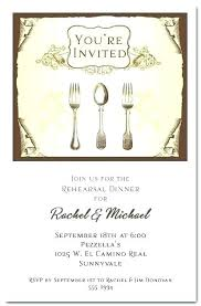 Party Rsvp Template Rehearsal Dinner Wording Invitation Template Casual Party