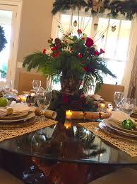 Christmas Table Decorations Settings Entertaining Ideas Great ...