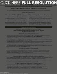 Resume For Paramedic Resume For Study