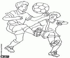 Small Picture Football or Soccer coloring pages printable games 2