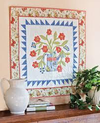 Garden Time Wall Hanging Quilt Pattern - The Quilting Company & Garden Time Wall Hanging Quilt Pattern Adamdwight.com