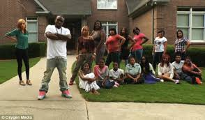 tv shows for 11 year olds. controversial: rapper shawty lo, with his 11 children (sat) and their ten tv shows for year olds n