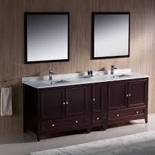 mahogany 84 inch traditional double sink bathroom vanity fvn20 361236mh 29