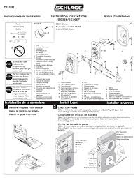 Door Lock Installation Instructions 29 On Creative Home Design Your