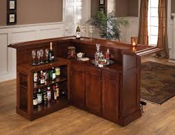 home mini bar furniture. Furniture, Simple Bar Furniture Table Made From Wooden Combined With Various Wine Bottles And Luxury Home Mini I
