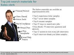 4 top job search materials for sales clerk sales clerk jobs