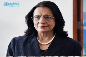 Dr Poonam Singh Nominated For 2nd Term As Regional Director WHO South-East  Asia