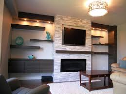 ... Wall Units, Mesmerizing Contemporary Entertainment Center Ideas  Contemporary Wall Units Floating Shelf And Wall Tv
