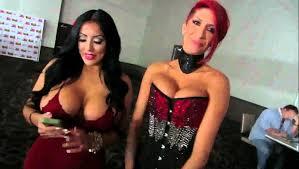 SLIVAN 257 AEE AVN day 4 AVN Awards with Christy Mack Remy.