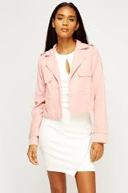 open front cropped jacket 1