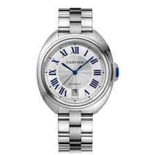 mens cartier watches the watch gallery cartier cle de cartier automatic stainless steel silver dial mens watch wscl0007